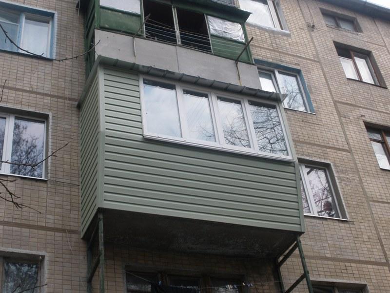 Балкон дизайн фото с наружи