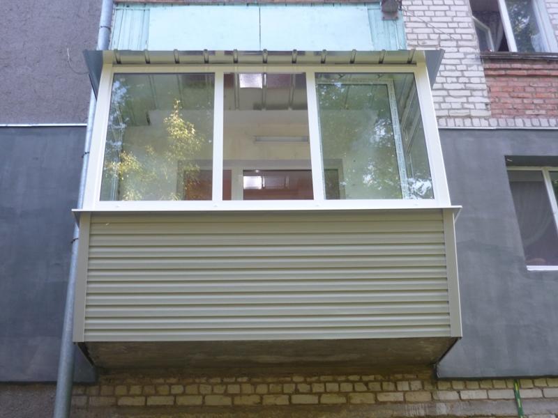 Ремонт балконов Черкассы. вынос балкона, внутренняя и наружн.